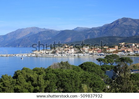 Saint Florent on Corsica, France
