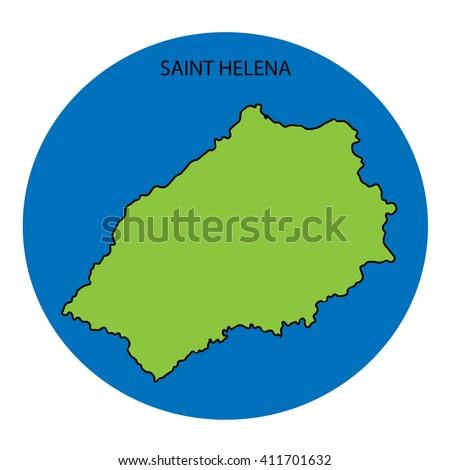 Saint Helena Map Stock Images RoyaltyFree Images Vectors - Saint helena map