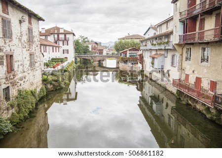 Saint jean pied de port stock images royalty free images - Saint jean pied de port santiago de compostela ...