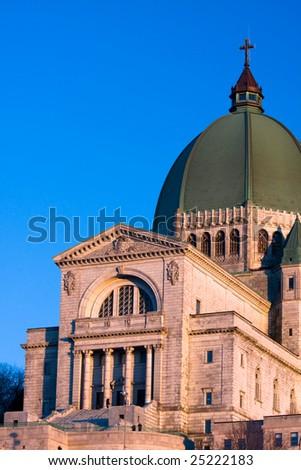 Saint Joseph's Oratory, Montreal, Quebec - stock photo