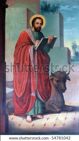 Saint Luke the Evangelist - stock photo