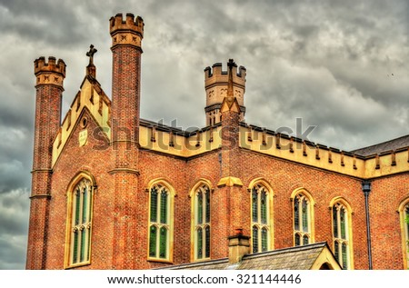 Saint Malachy Church in Belfast - Northern Ireland - stock photo