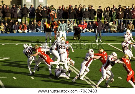 Saint Mary's Huskies defeat Laval Rouge et Or 24-2 in 2007 Uteck Bowl (Halifax, Canada)