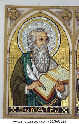 Saint Matthew the Evangelist - stock photo