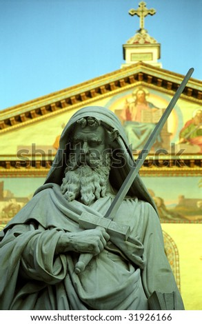 Saint Paul, Rome, Italy - stock photo