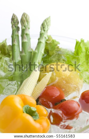 Salad ingredient - stock photo