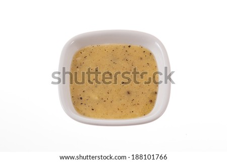Salad sauce. - stock photo
