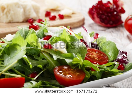 Arugula Salad Stock Photos, Images, & Pictures | Shutterstock