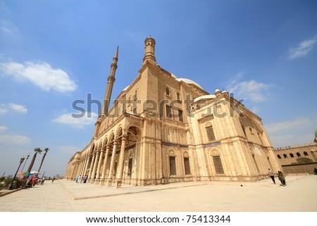 Saladin Citadel - stock photo