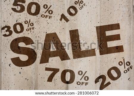 Sale - stock photo