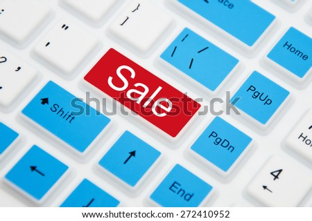 Sale Button on keyboard
