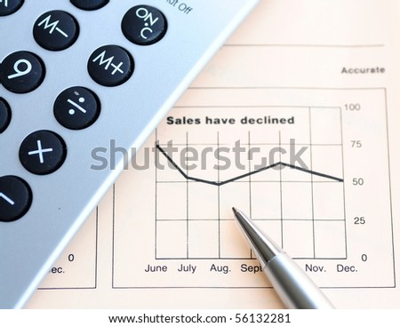 Sales performance - stock photo