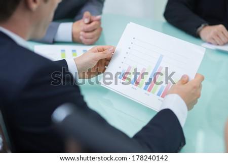 Sales Volume - stock photo