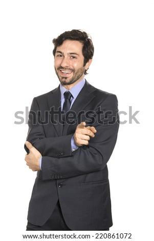 Salesman - stock photo