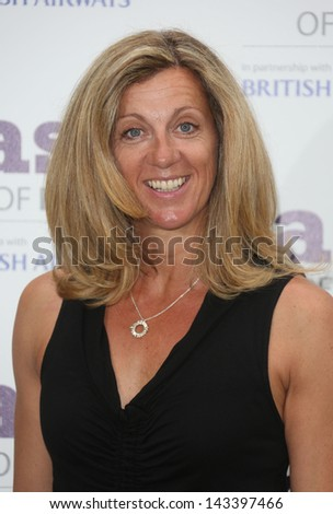 Sally Gunnell at The Taste of London 2013 held in Regents Park London. 19/06/2013