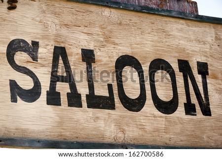 Saloon - stock photo