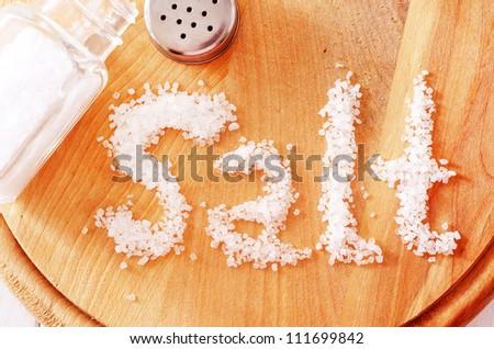 salt - stock photo