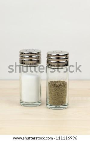 Salt And Pepper - stock photo