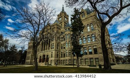 Salt Lake City & County Building - stock photo