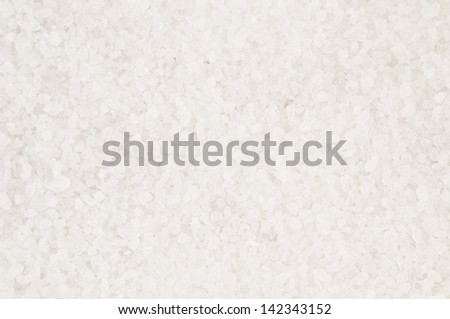 Salt large crystals background - stock photo
