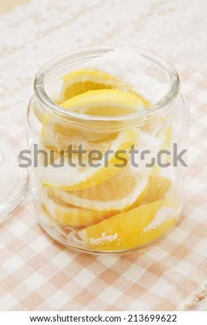 Salted lemon