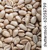 Salted peanuts texture background - stock photo
