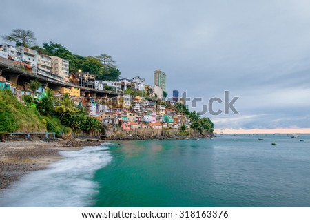 Salvador - Bahia  Brazil - stock photo
