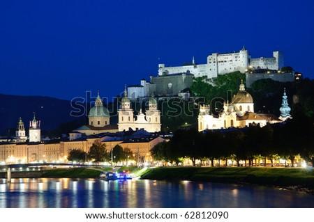 Salzburg, Austria - stock photo