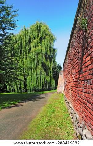 Salzwedel  City Wall - stock photo