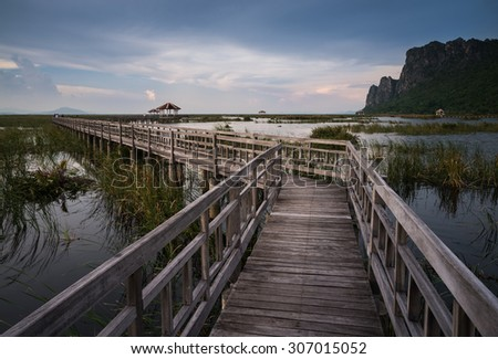Sam Roi Yod National Park, Prachuap Khiri Khan, Thailand - stock photo