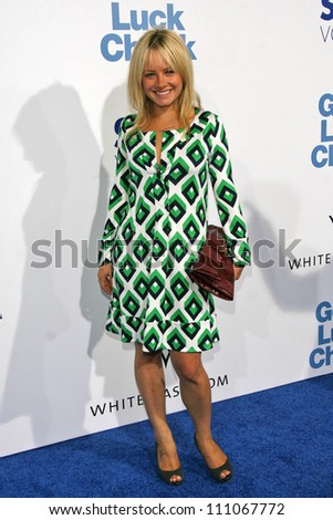 """Samantha Mollen at the Los Angeles Premiere of """"Good Luck Chuck"""". Mann National Theater, Westwood, CA. 09-19-07 - stock photo"""