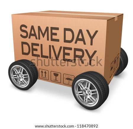 Same day delivery online shopping
