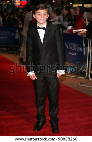 Sammy Williams arriving at the film premiere of 'Wild Bill' at The Vue West End, London. 21/10/2011  Picture by: Alexandra Glen / Featureflash