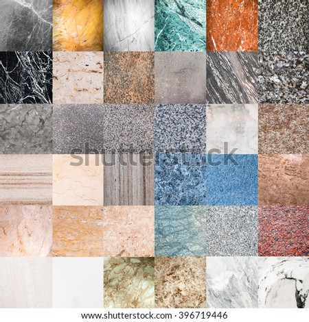 sample of marble texture - granite layers design gray stone slab surface grain rock backdrop layout industry construction