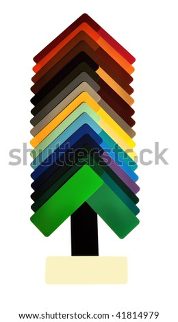 Samples of color - stock photo
