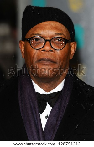 Samuel L. Jackson arriving for the 2013 BAFTA After Party, Grosvenor House Hotel Park Lane, London. 10/02/2013 Picture by: Simon Burchell - stock photo