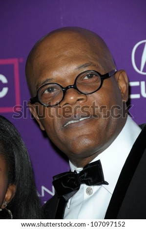 Samuel L. Jackson   at the 23rd Annual American Cinematheque Awards. Beverly Hilton, Beverly Hills, CA. 12-01-08 - stock photo