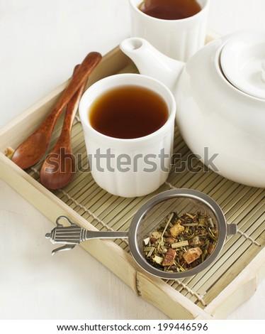 Samurai Chai Mate Tea - stock photo