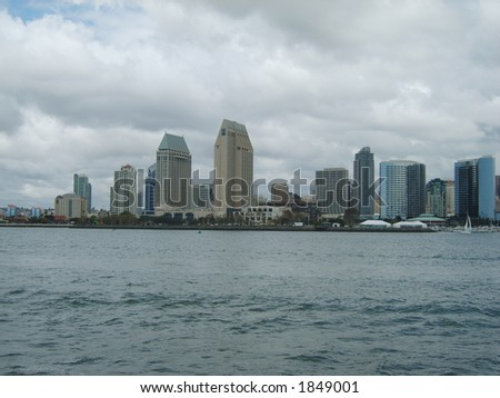 San Diego Bayfront - stock photo