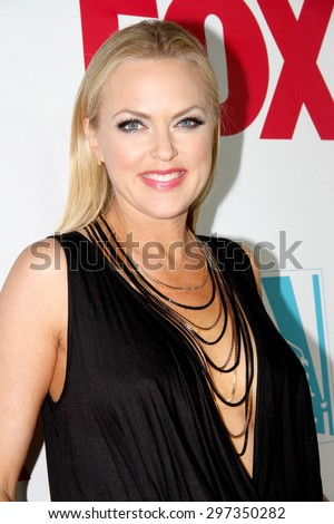 SAN DIEGO, CA - JULY 10: Elaine Hendrix arrives at the 20th Century Fox/FX Comic Con party at the Andez hotel on July 10, 2015 in San Diego, CA. - stock photo