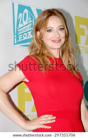 SAN DIEGO, CA - JULY 10: Judy Greer arrives at the 20th Century Fox/FX Comic Con party at the Andez hotel on July 10, 2015 in San Diego, CA. - stock photo