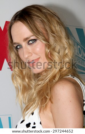 SAN DIEGO, CA - JULY 10: Ruta Gedmintas arrives at the 20th Century Fox/FX Comic Con party at the Andez hotel on July 10, 2015 in San Diego, CA. - stock photo