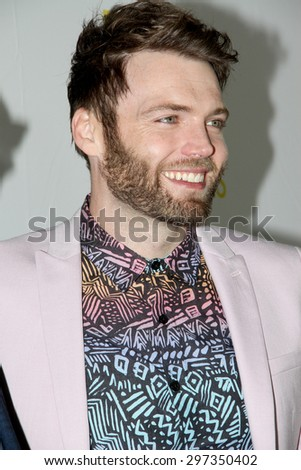 SAN DIEGO, CA - JULY 10: Seth Gabel arrives at the 20th Century Fox/FX Comic Con party at the Andez hotel on July 10, 2015 in San Diego, CA. - stock photo