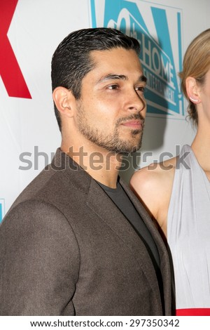 SAN DIEGO, CA - JULY 10: Wilmer Valderrama arrives at the 20th Century Fox/FX Comic Con party at the Andez hotel on July 10, 2015 in San Diego, CA. - stock photo