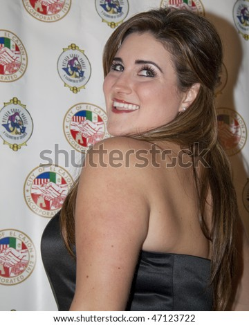 SAN DIEGO, CA - NOVEMBER 22:  Kaycee Stroh attends the 3rd annual Evening with the Stars prior to the 62nd  annual Mother Goose Parade November 22, 2008 in San Diego, CA - stock photo