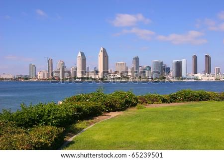 San Diego, California. - stock photo