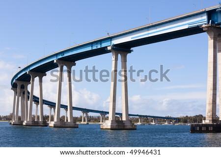 San Diego Coronado Bridge - stock photo