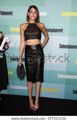 SAN DIEGO - JUL 11:  Willa Holland at the Entertainment Weekly's Annual Comic-Con Party at the FLOAT at The Hard Rock Hotel  on July 11, 2015 in San Diego, CA - stock photo