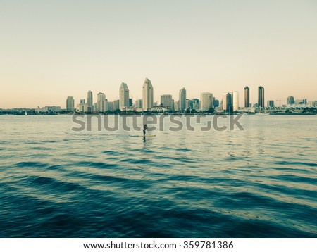 SAN DIEGO, USA - SEPTEMBER 19: cityscape on September 19, 2015 in California, United States. It has estimated population of 1,381,069 as of July 1, 2014.