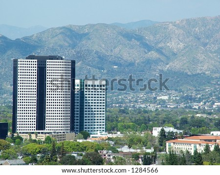 San Fernando Valley Scene - stock photo